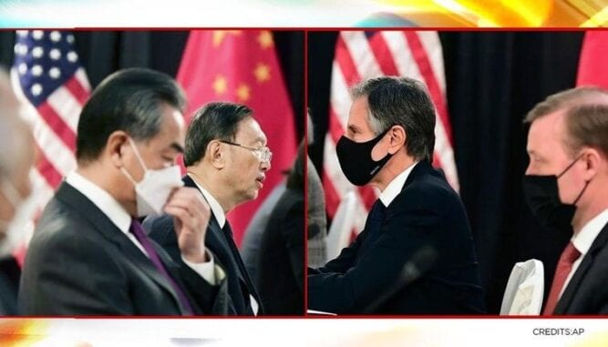 After heated talk in Alaska, the US-China relations reset cautiously by top diplomats from both countries.