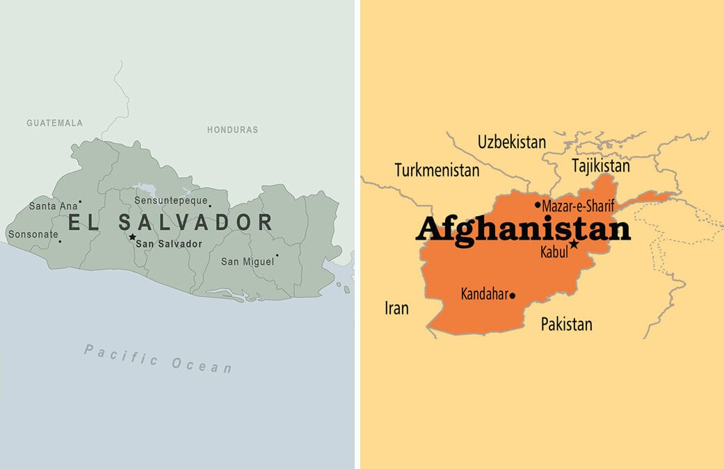 Looking Back to See Ahead:  The Lessons of El Salvador and Afghanistan