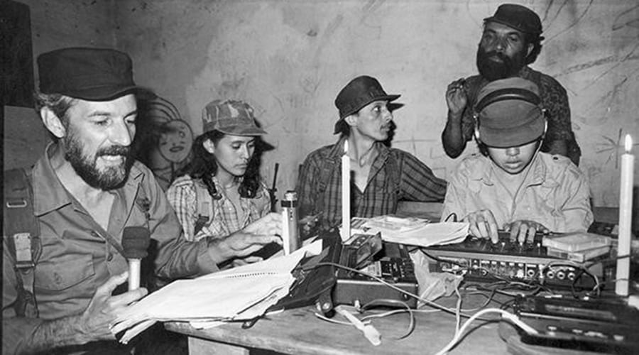 Radio Venceremos was a FMLN guerrilla radio station that operated during the Salvadoran Civil War.
